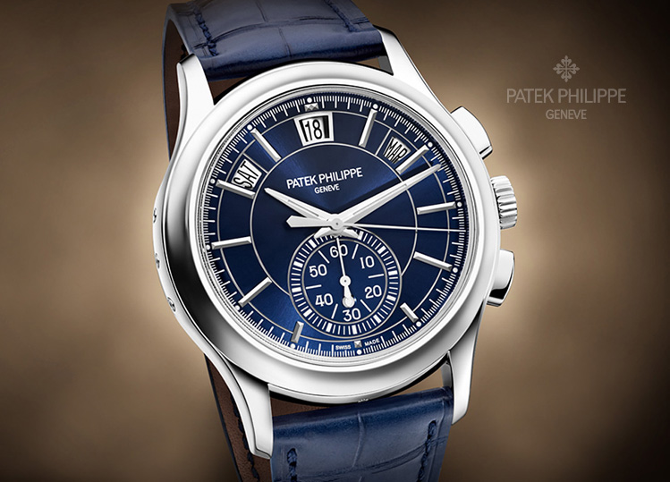 Introducing the Annual Calendar Chronograph by Patek Philippe