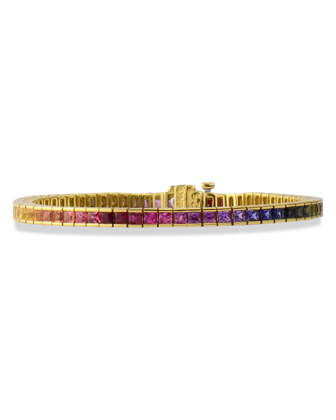 color frozzgems with multi sapphire bracelet en