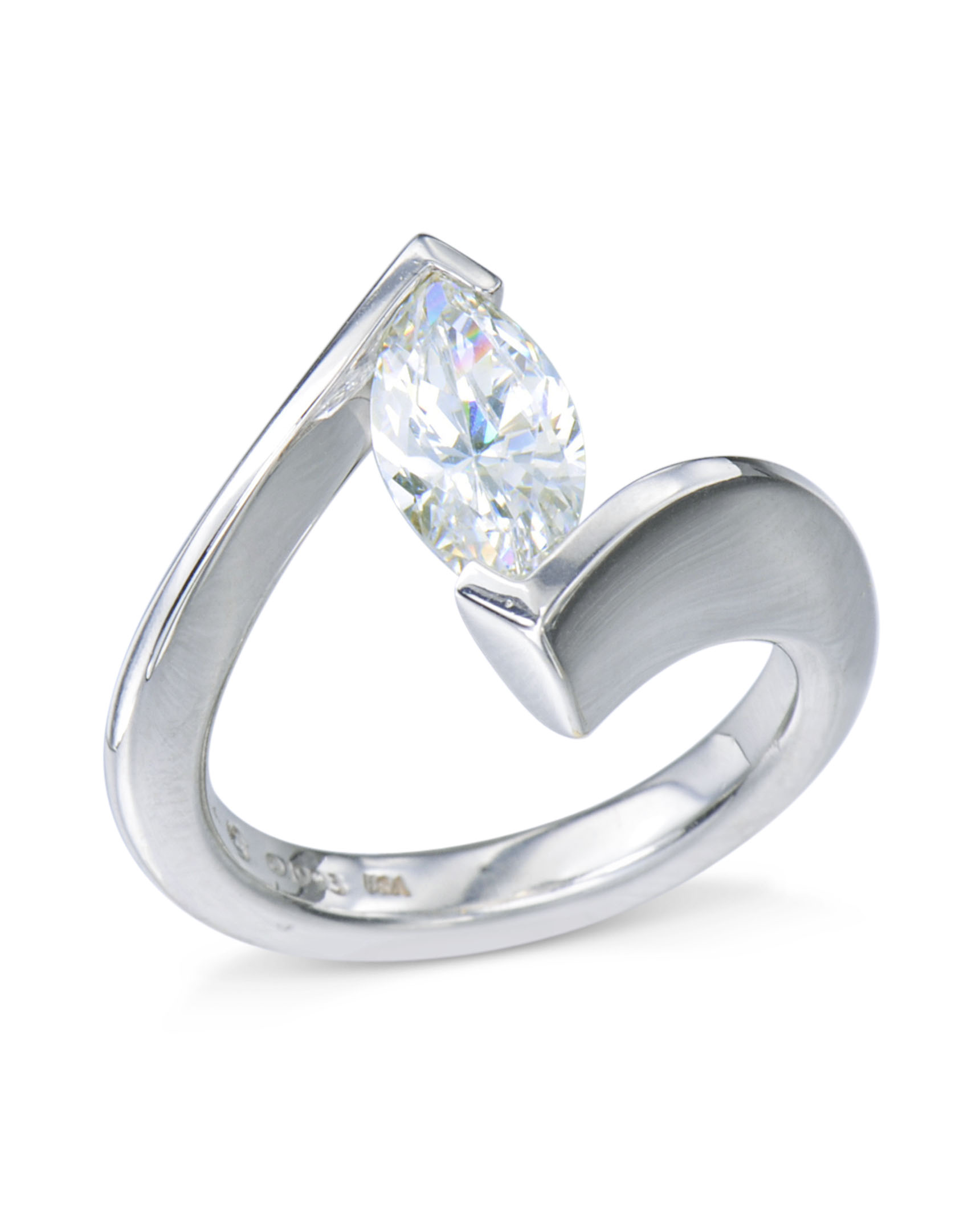 cut solitaire solitare whiteview style daimond rings ring round tiffany engagement