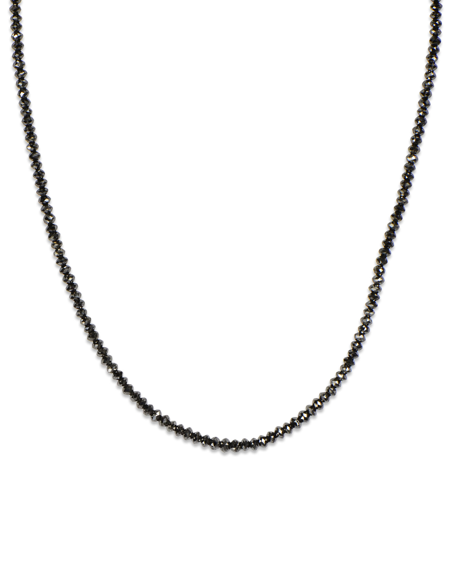 diamond linea bario black necklace pendant neal