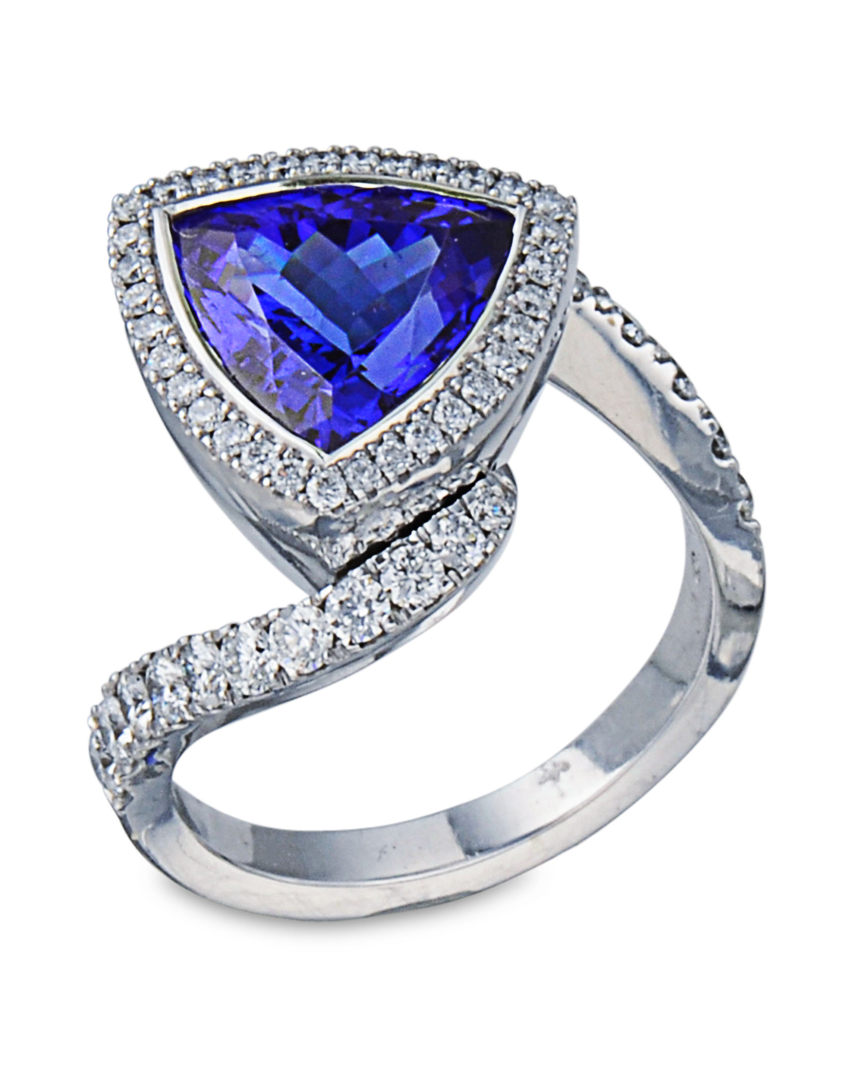 Tanzanite Diamond Ring Turgeon Raine