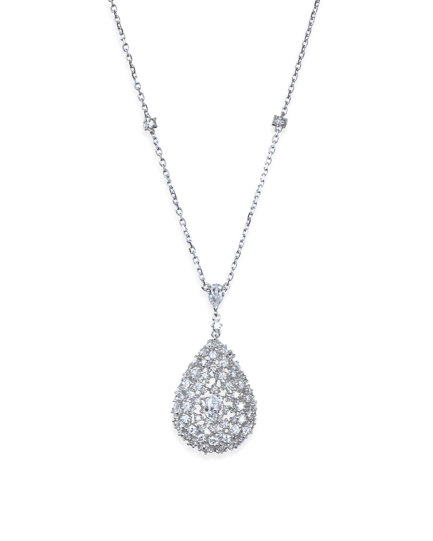 Pav diamond pendant turgeon raine pav diamond pendant aloadofball Images