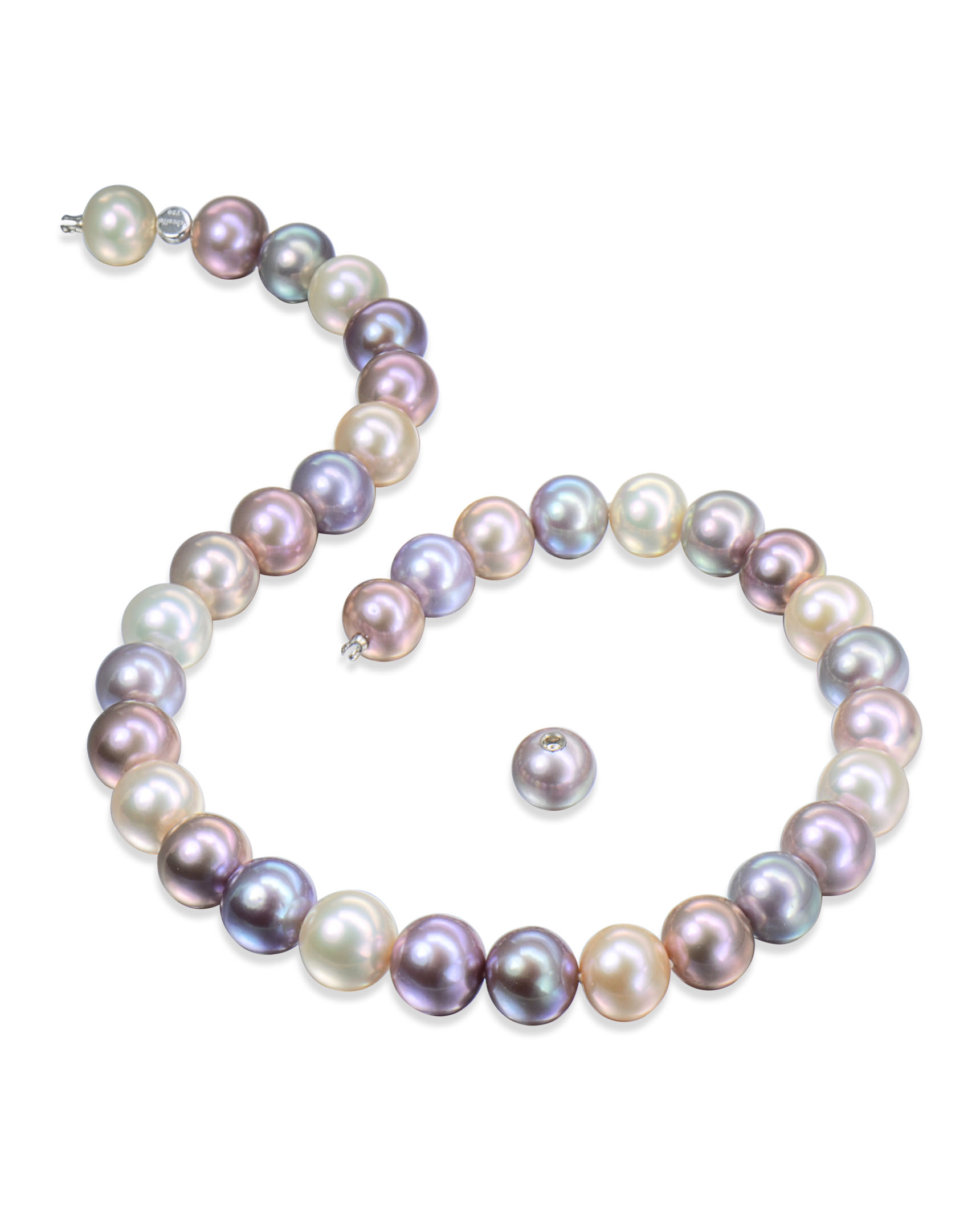 white akoya jewellery in necklace cultured gold pearl pearls