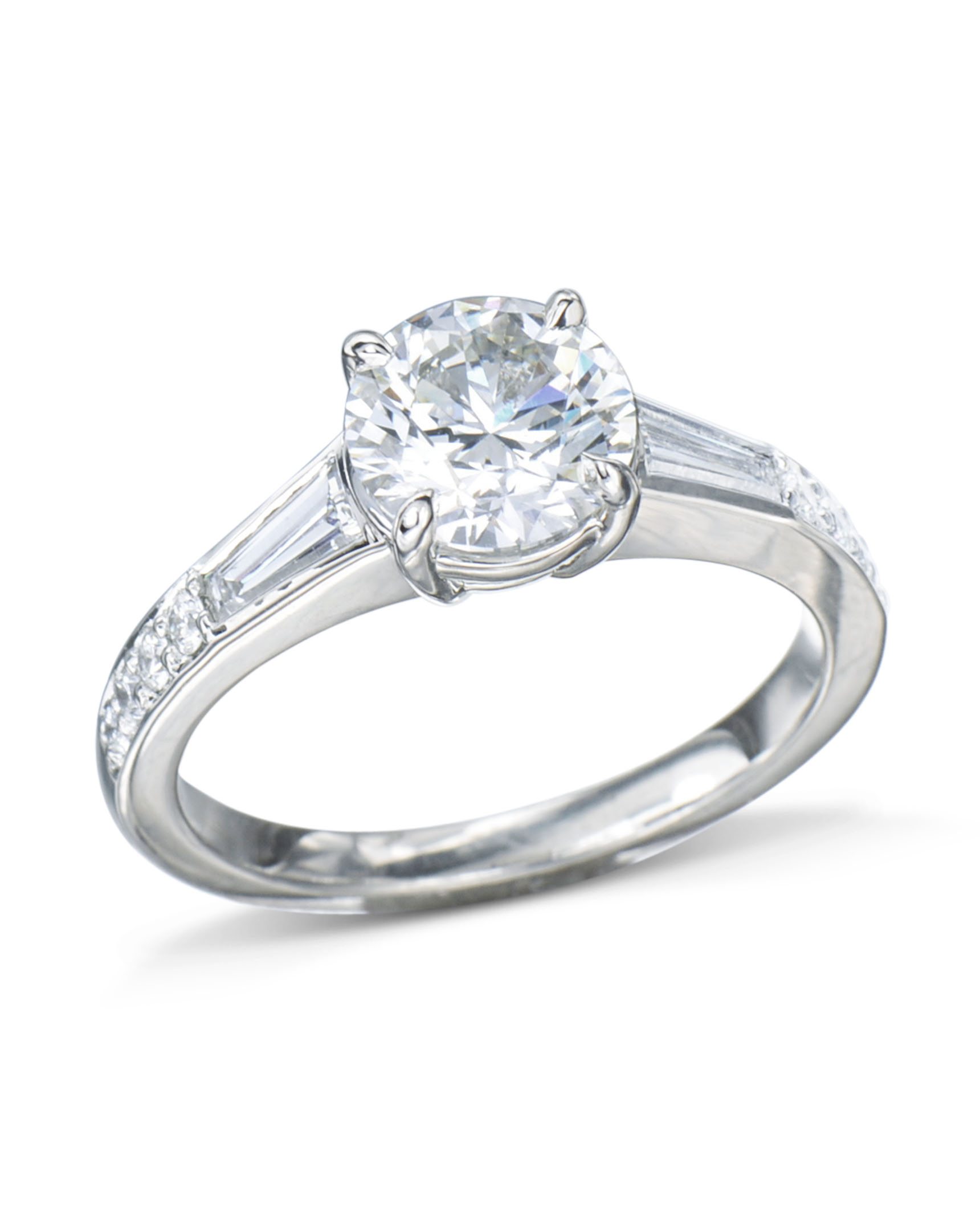 princess band womens engagement set and fine avanti cut ring diamond rings jewellery platinum image