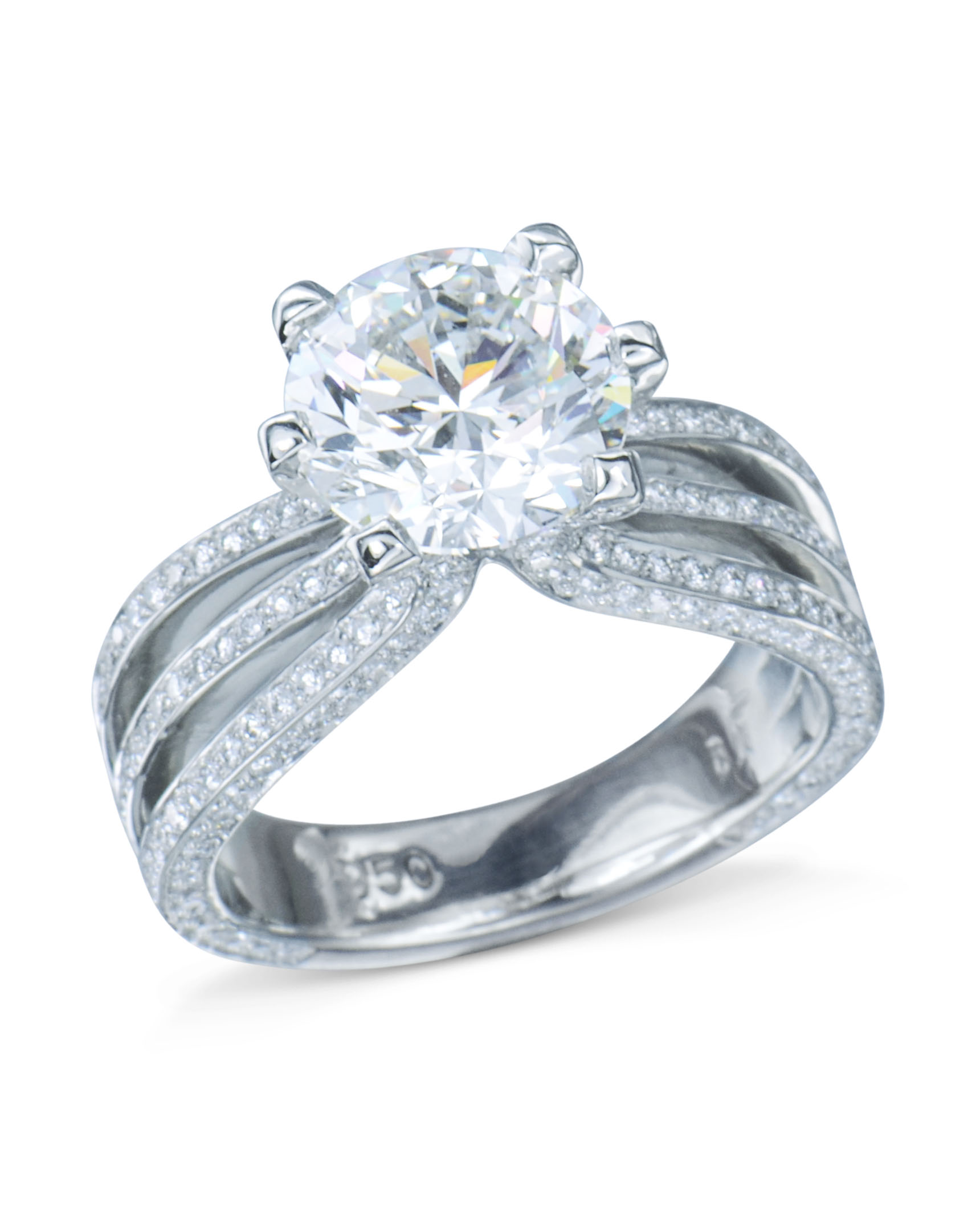 diamond rings engagement complete stone bridal solitaire beautiful band set wedding ring