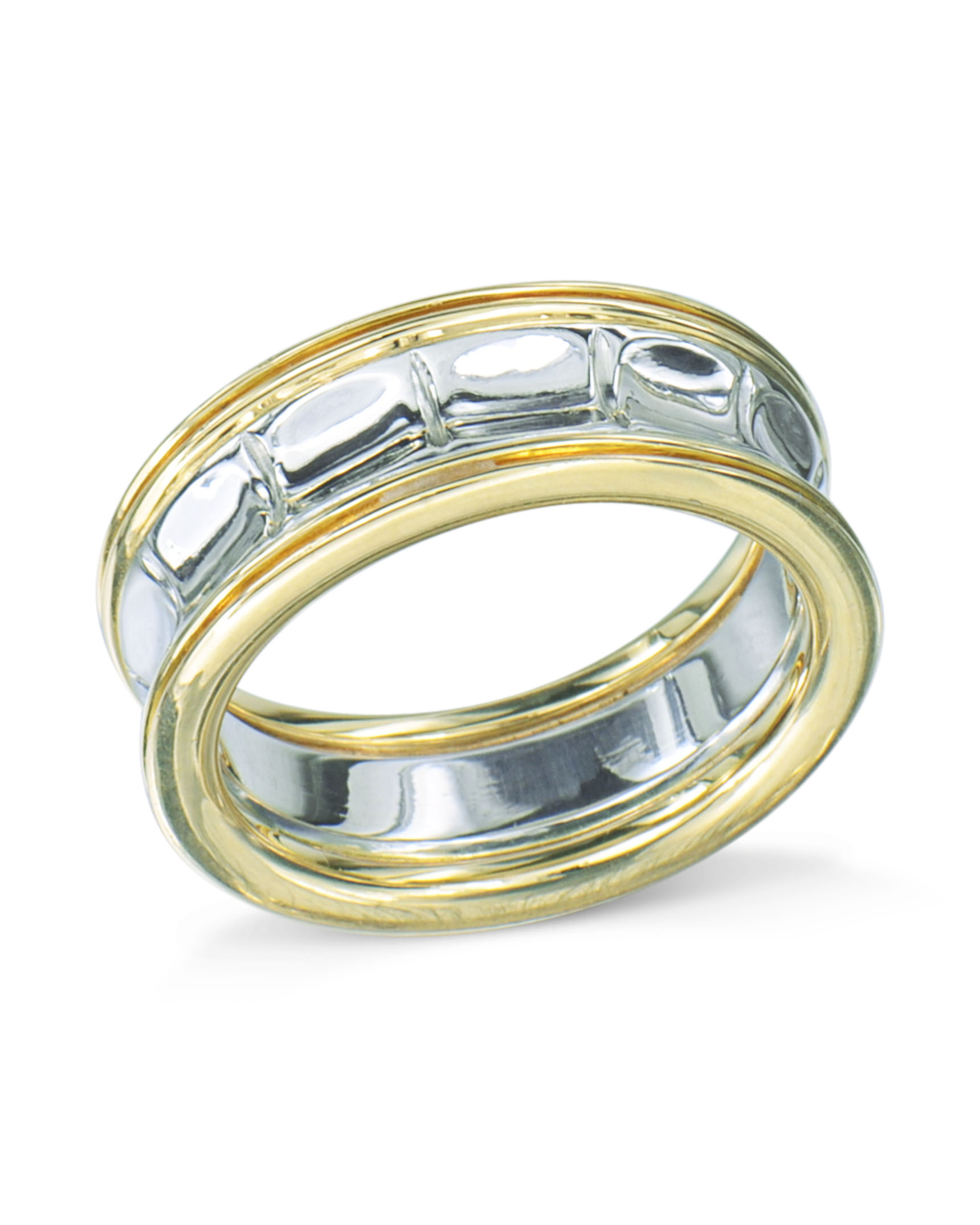 silver band tone dp platinum set com jewelry gold wide wedding ring millimeters amazon bands raphael sterling and alain yellow