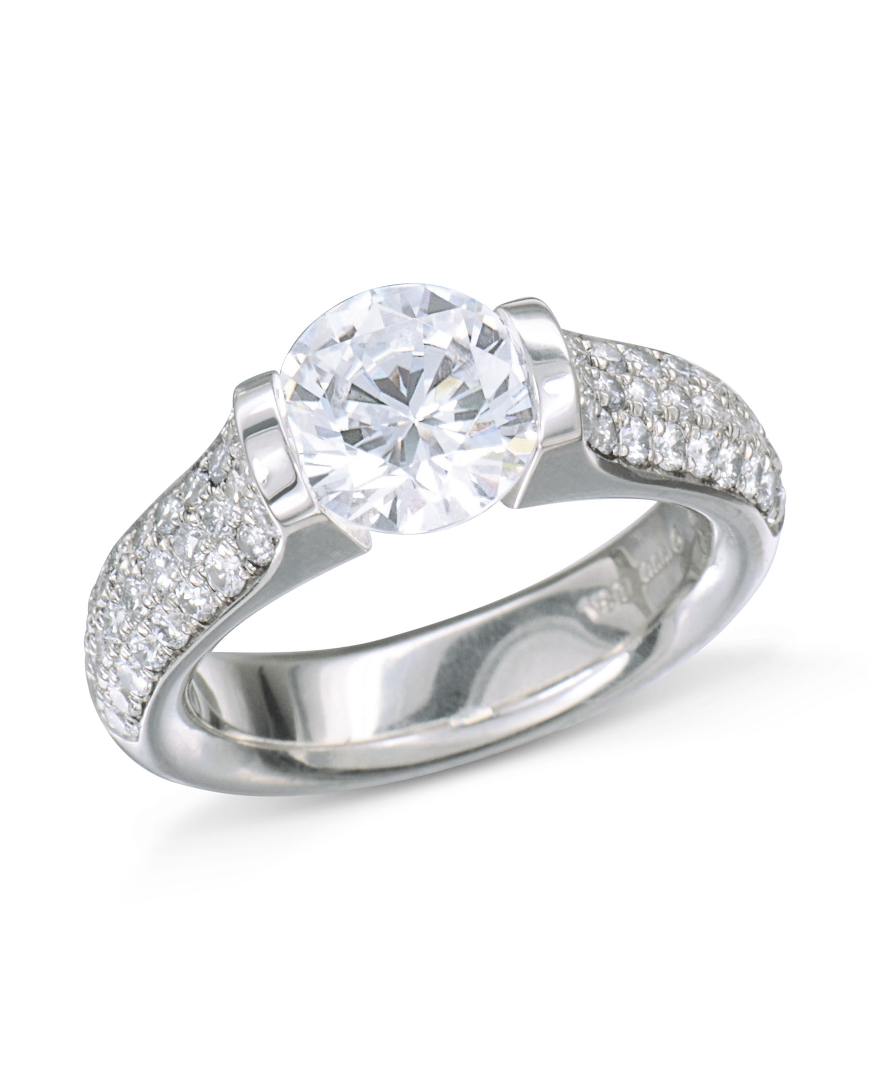 engagement set gold solitaire dsc ring in rings channel products diamond white tension