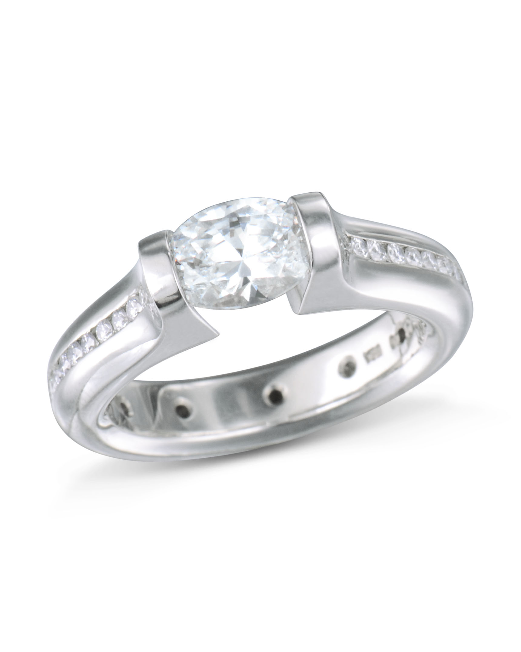 rbc ct sz diamond dsc solitaire ring tension collections set products rings